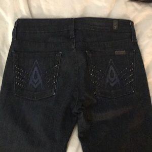 A pocket bootcut